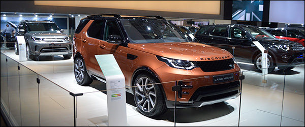 Autosalon Brussel 2017 live: Land Rover / Range Rover (Paleis 6)