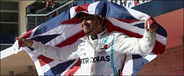 Lewis Hamilton is wereldkampioen F1 (2019)