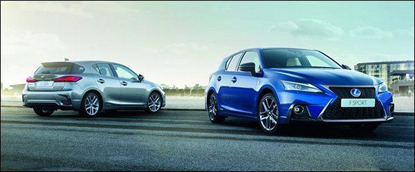Officieel: Lexus CT200h facelift (2017)
