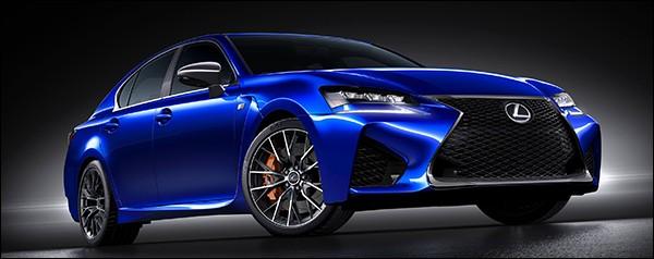 Officieel: Lexus GS F 2015
