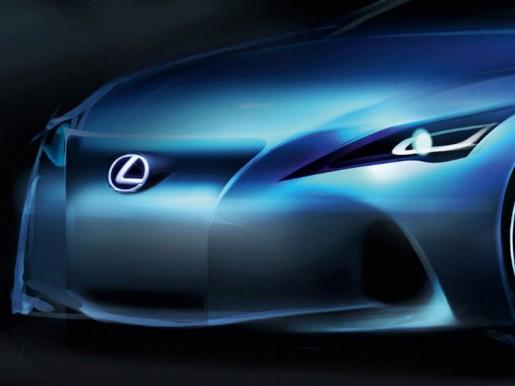 Lexus LF-Gh nieuwe GS