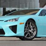 Lexus LFA V10 baby blue