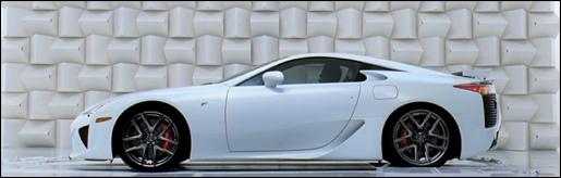 Lexus LFA champagne commercial