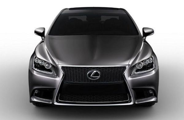 Lexus LS Facelift 2013 1