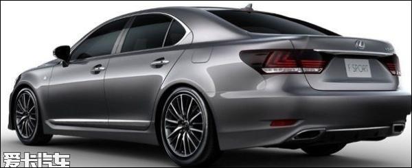 Lexus LS Facelift 2013