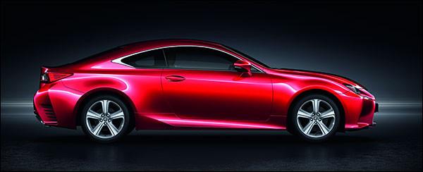 Officieel: Lexus RC 200t [245 pk / 350 Nm]
