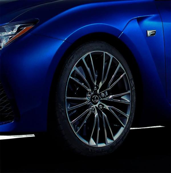Teaser: Lexus RC-F