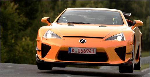 Lexus LF-A Nurgburgring