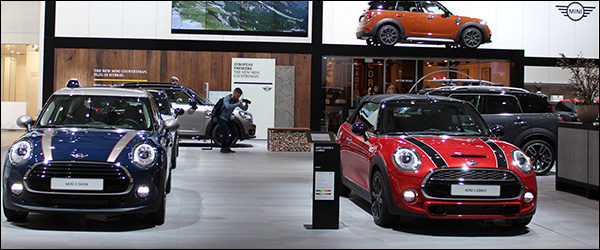 Autosalon Brussel 2017 live: MINI (Paleis 7)