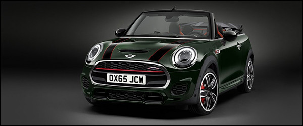 Officieel: MINI Cabrio John Cooper Works [231 pk / 320 Nm]