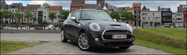 MINI Cooper S - The New Original - Rijtest GroenLicht - Header