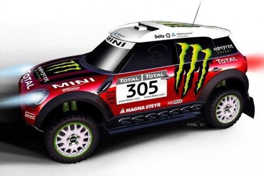 MINI Countryman ALL4 Racing Dakar