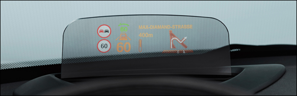 MINI Head-Up Display 2014