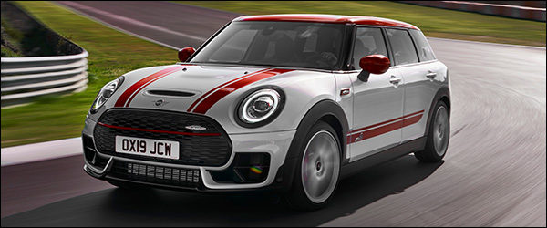 Officieel: MINI John Cooper Works Clubman JCW 306 pk (2019)