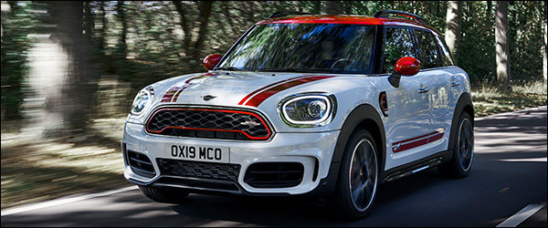 Officieel: MINI John Cooper Works Countryman JCW 306 pk (2019)