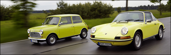 MINI Porsche 911 Birthday
