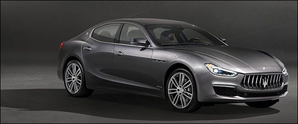 Officieel: Maserati Ghibli GranLusso facelift (2017)