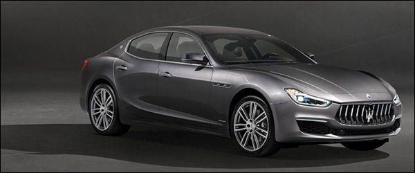 Officieel: Maserati Ghibli GranLusso facelift (2017)