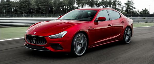 Officieel: Maserati Ghibli Trofeo V8 580 pk (2020)