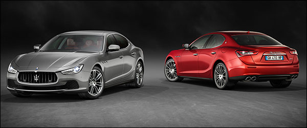 Officieel: Maserati Ghibli facelift (MY17)