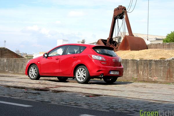 Test Rijtest Mazda 3 2012