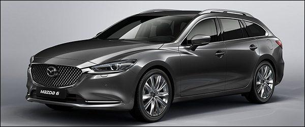 Officieel: Mazda 6 Wagon facelift (2018)