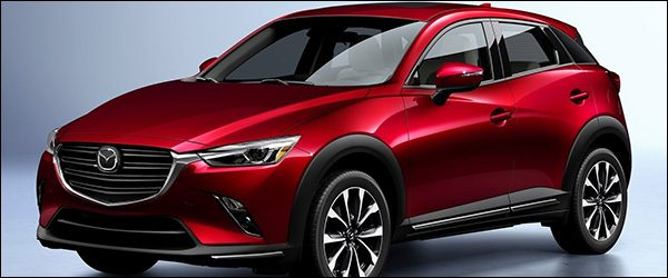 Officieel: Mazda CX-3 facelift (2018)