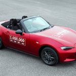 1.000.000ste Mazda MX-5 rolt van de band!