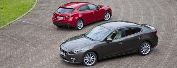 Mazda3 Autosalon Brussel 2014