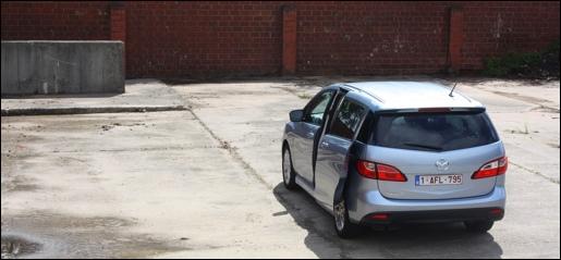 Mazda5 Rijtest