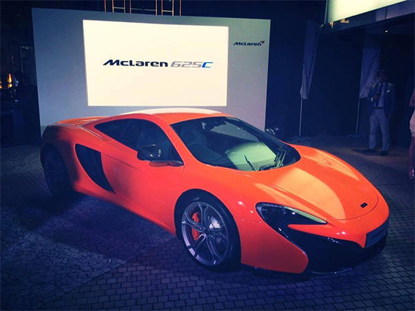 McLaren 625C Club is Aziatische instapper