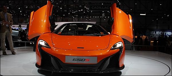 McLaren 650S Spider - Geneve 2014 Live