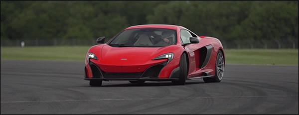 McLaren 675LT video