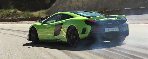 Video: McLaren 675LT gaat hard!