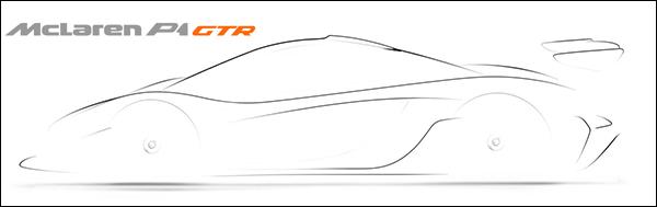 McLaren bevestigt komst P1 GTR