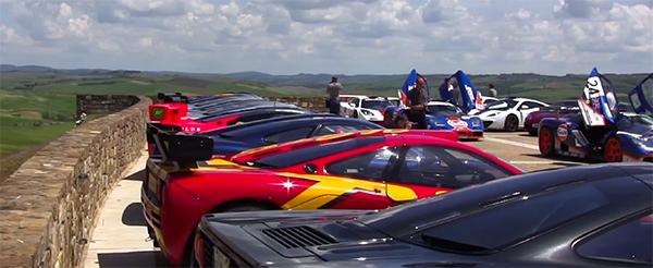 Video: Met een hoop McLaren F1's door Toscane