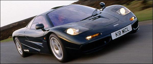 McLaren F1 supercar 1994