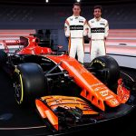 Dit is de McLaren MCL32, de F1 wagen van Stoffel Vandoorne!