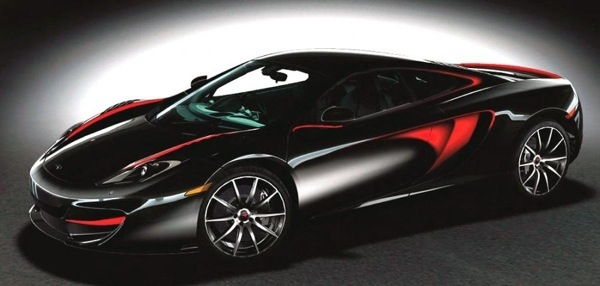 McLaren MP4-12C Fire Black Singapore Edition