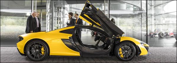 McLaren P1 1st Delivery