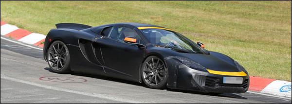 McLaren P13 Header