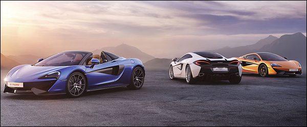 McLaren Brussels biedt 3 jaar gratis onderhoud aan