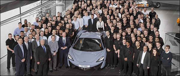 10.000ste McLaren is een feit!