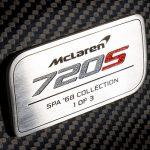 Officieel: McLaren 720S Spa 68 Collection (2018)