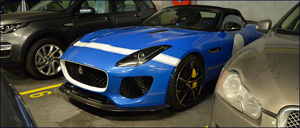 Meet & Greet: Jaguar F-Type Project 7