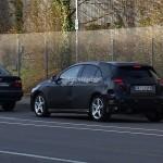 Mercedes A-Klasse spyshots
