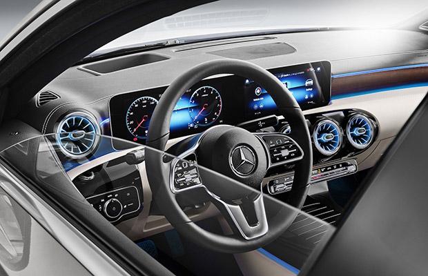 Officieel Mercedes A Klasse Berline 2018 Groenlicht Be