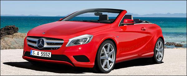Impressie: Mercedes A-Klasse Cabrio
