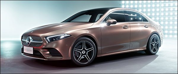 Officieel: Mercedes A-Klasse Sedan (2018)