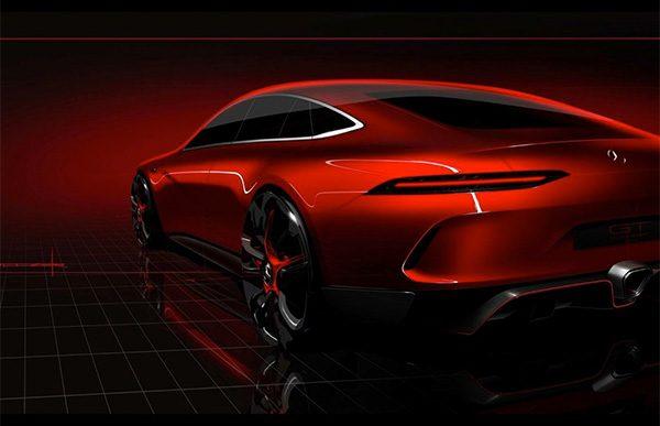Teaser: Mercedes-AMG GT Concept (2017)